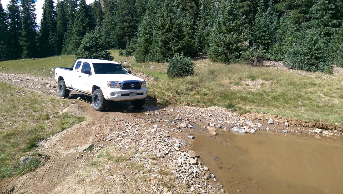 Webster Pass - Waypoint 4: Muddy Crossing