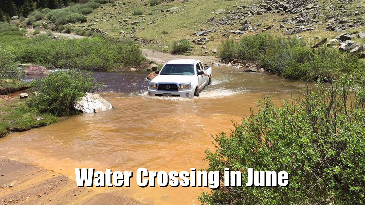 Webster Pass - Waypoint 6: Water Crossing