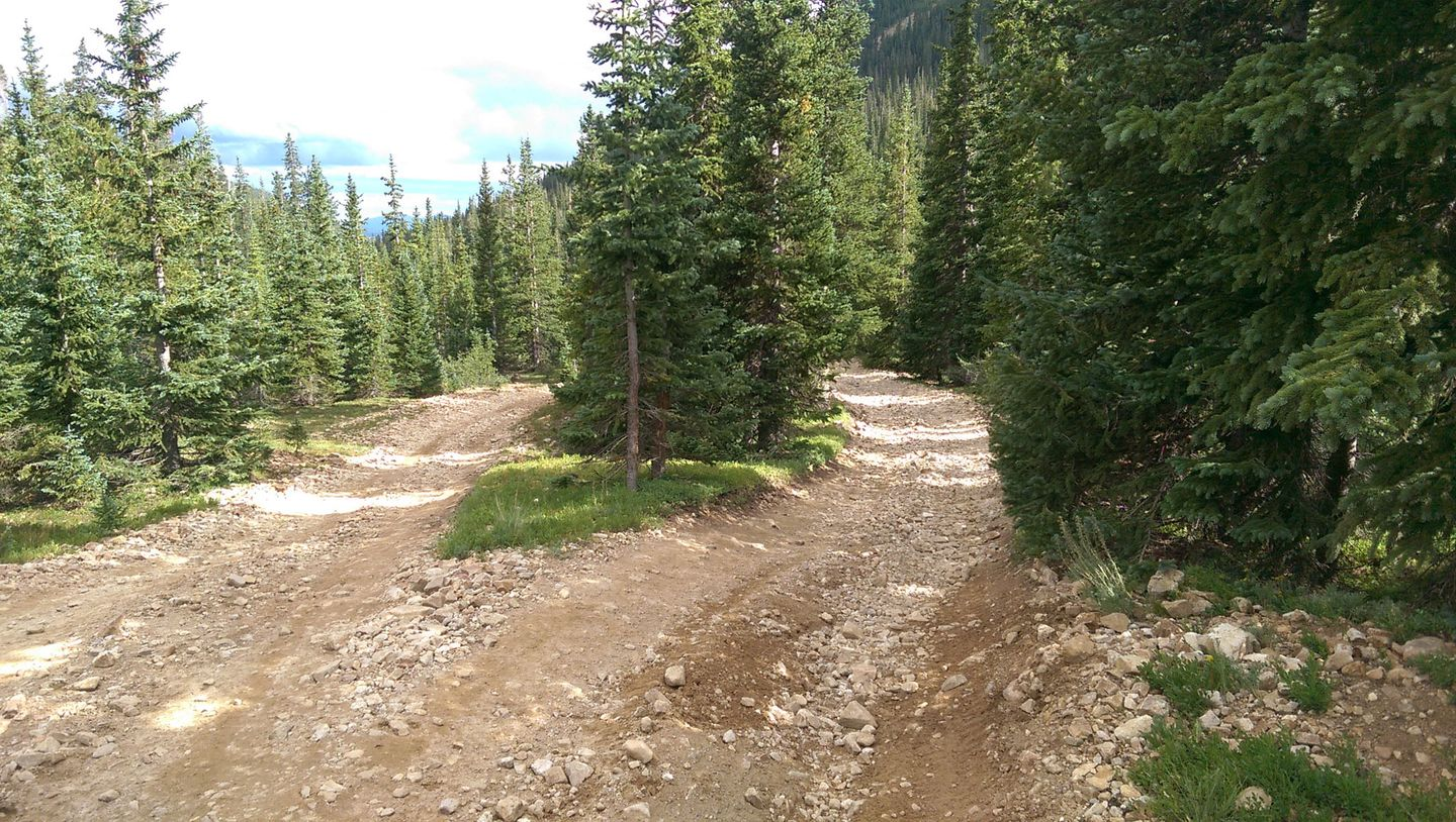 Webster Pass - Waypoint 12: Bypass