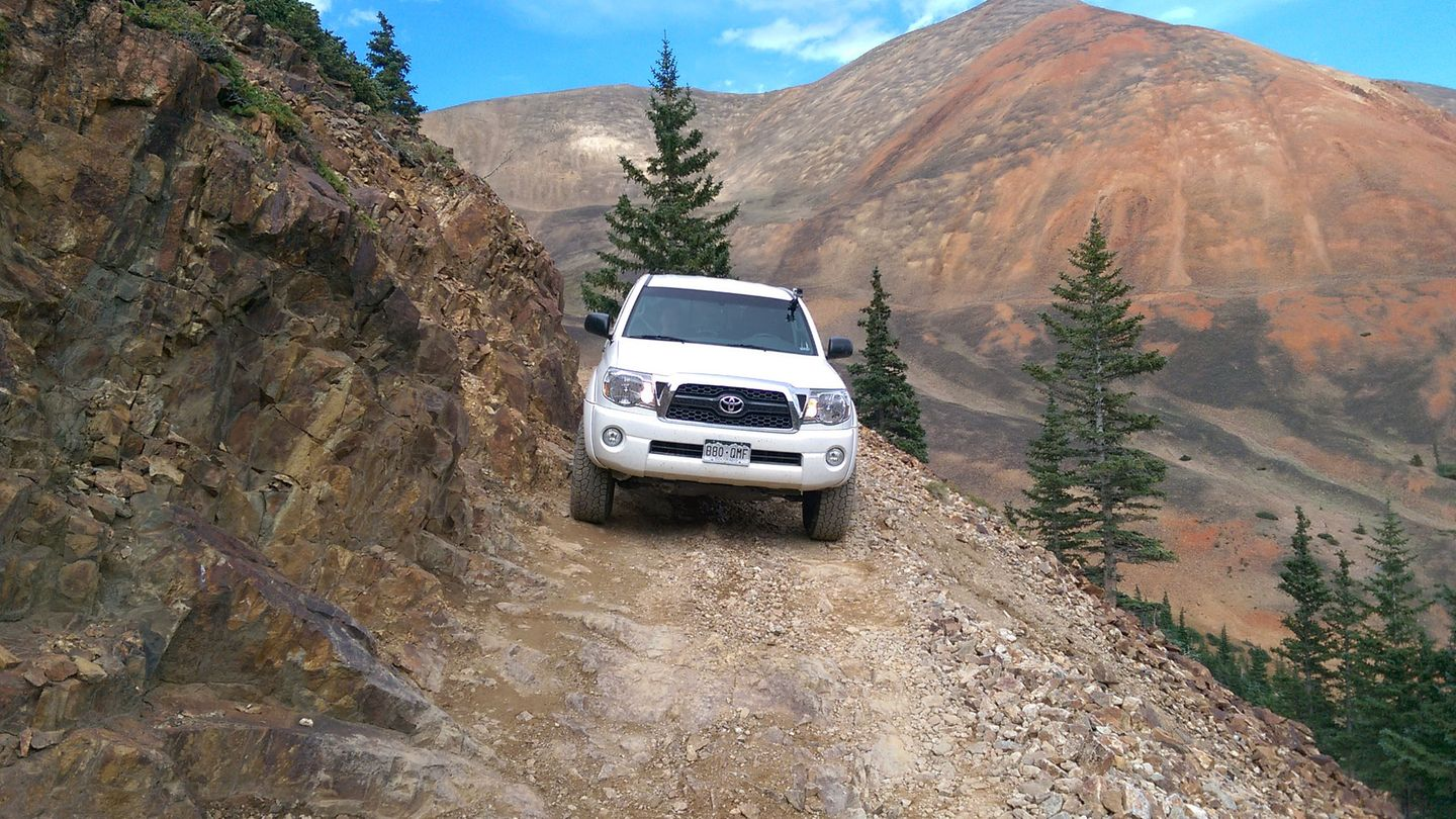 Webster Pass - Waypoint 10: Very Narrow