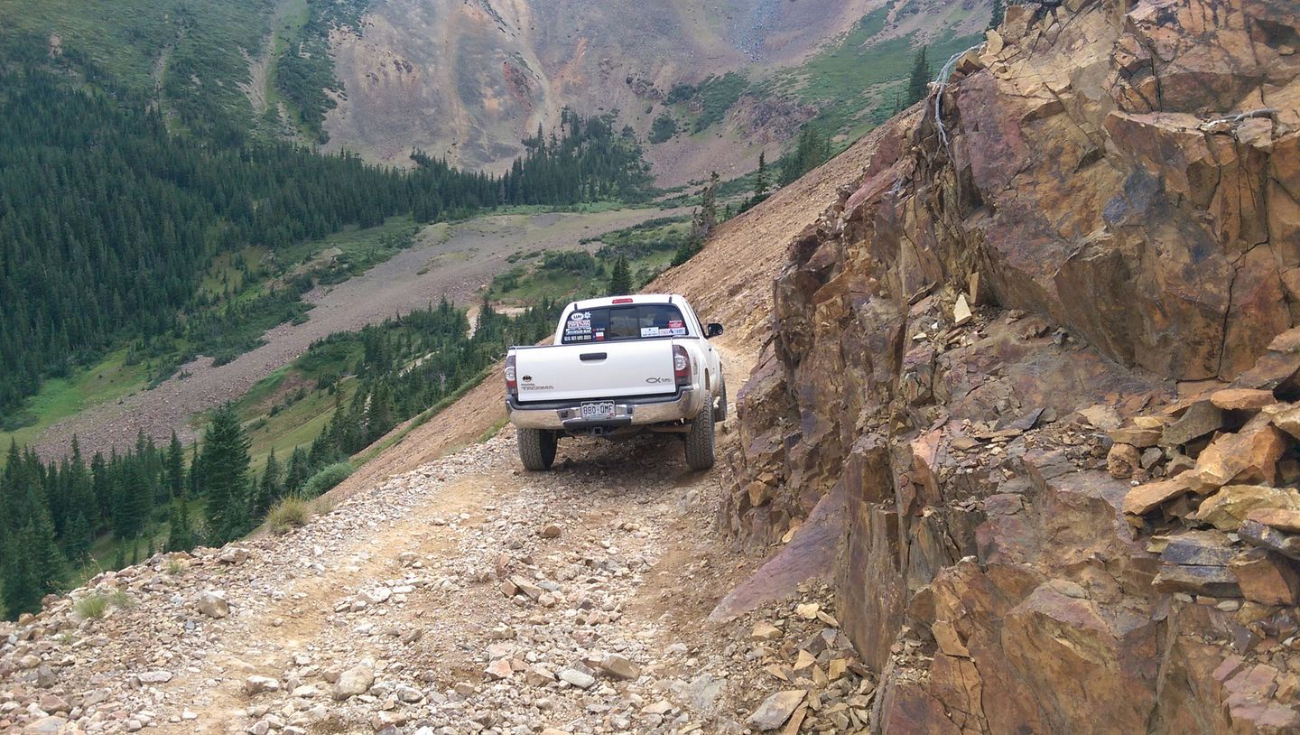 Webster Pass - Waypoint 11: Very Narrow
