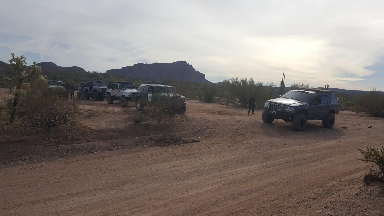 Box Canyon - Florence, Arizona - Waypoint 1: Trailhead