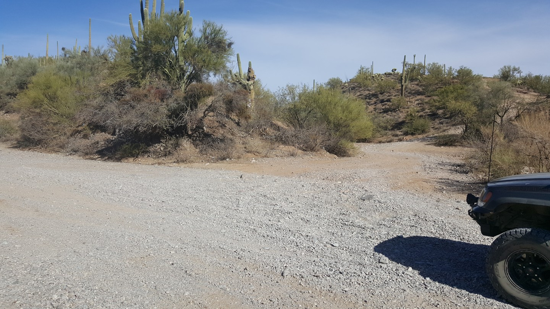 Box Canyon - Florence, Arizona - Waypoint 6: Veer Left At Y