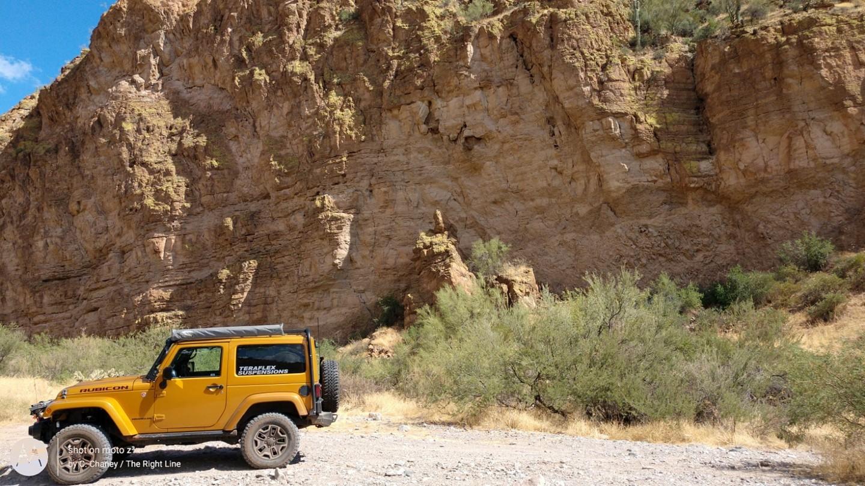 Box Canyon - Florence, Arizona - Waypoint 3: Entering Box Canyon