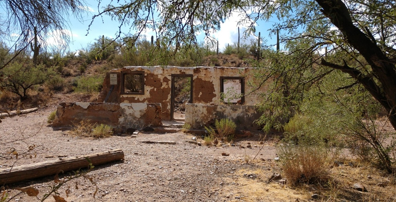 Box Canyon - Florence, Arizona - Waypoint 7: Stage Coach Stop