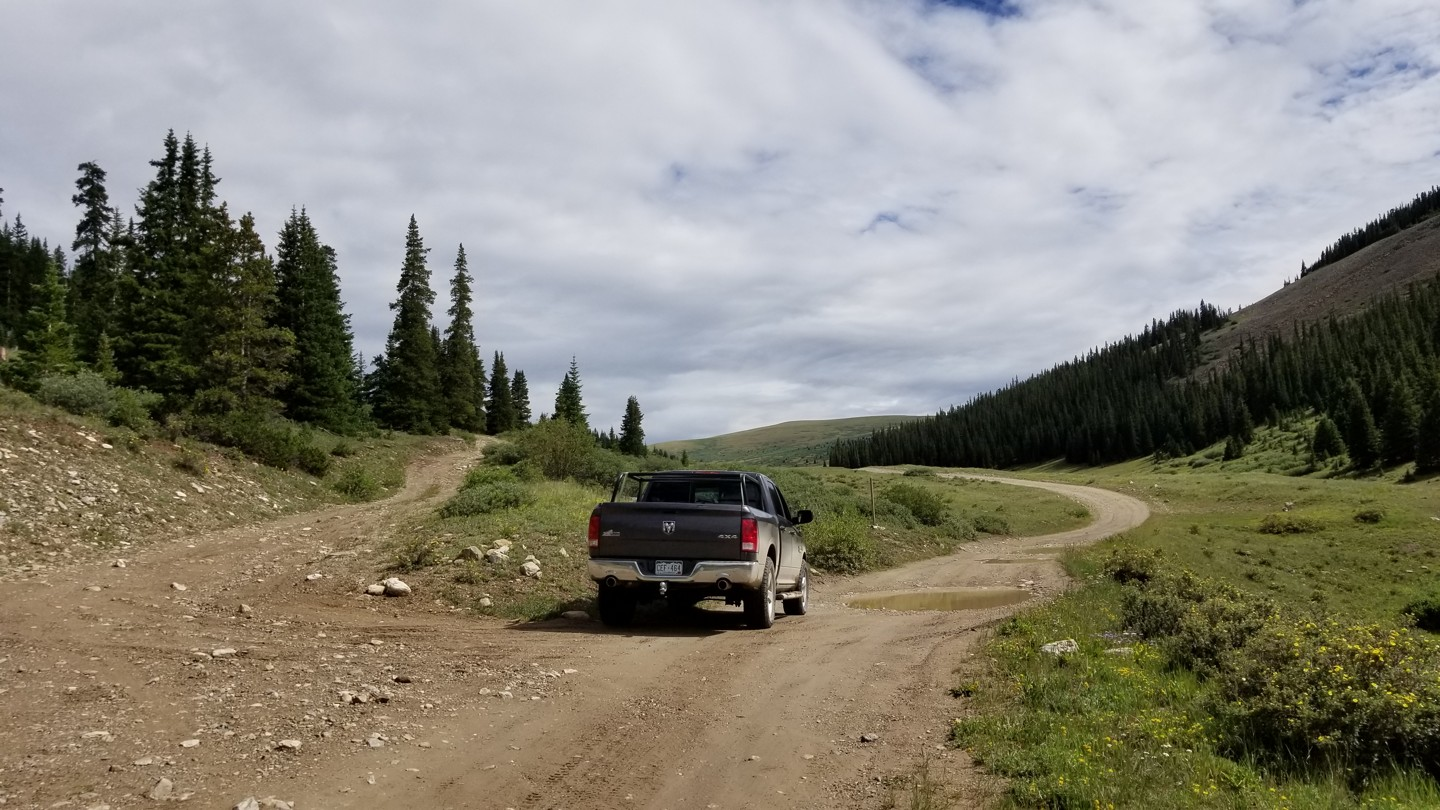 Weston Pass - Waypoint 12: Unknown Road - Stay Right / Southeast