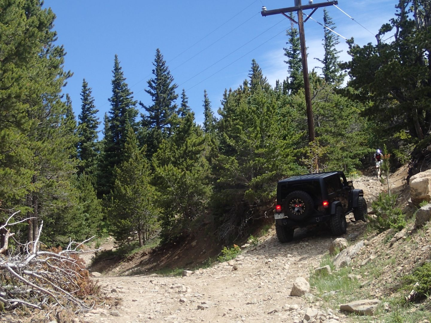 Yankee Hill to Central City - Waypoint 1: Mine Road Trailhead