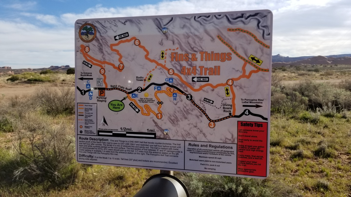 Trail Review: Fins and Things