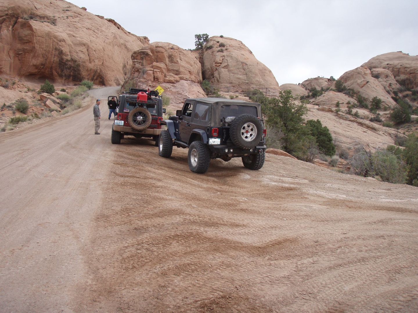 Fins and Things - Waypoint 6: Intersection - Sand Flats Road
