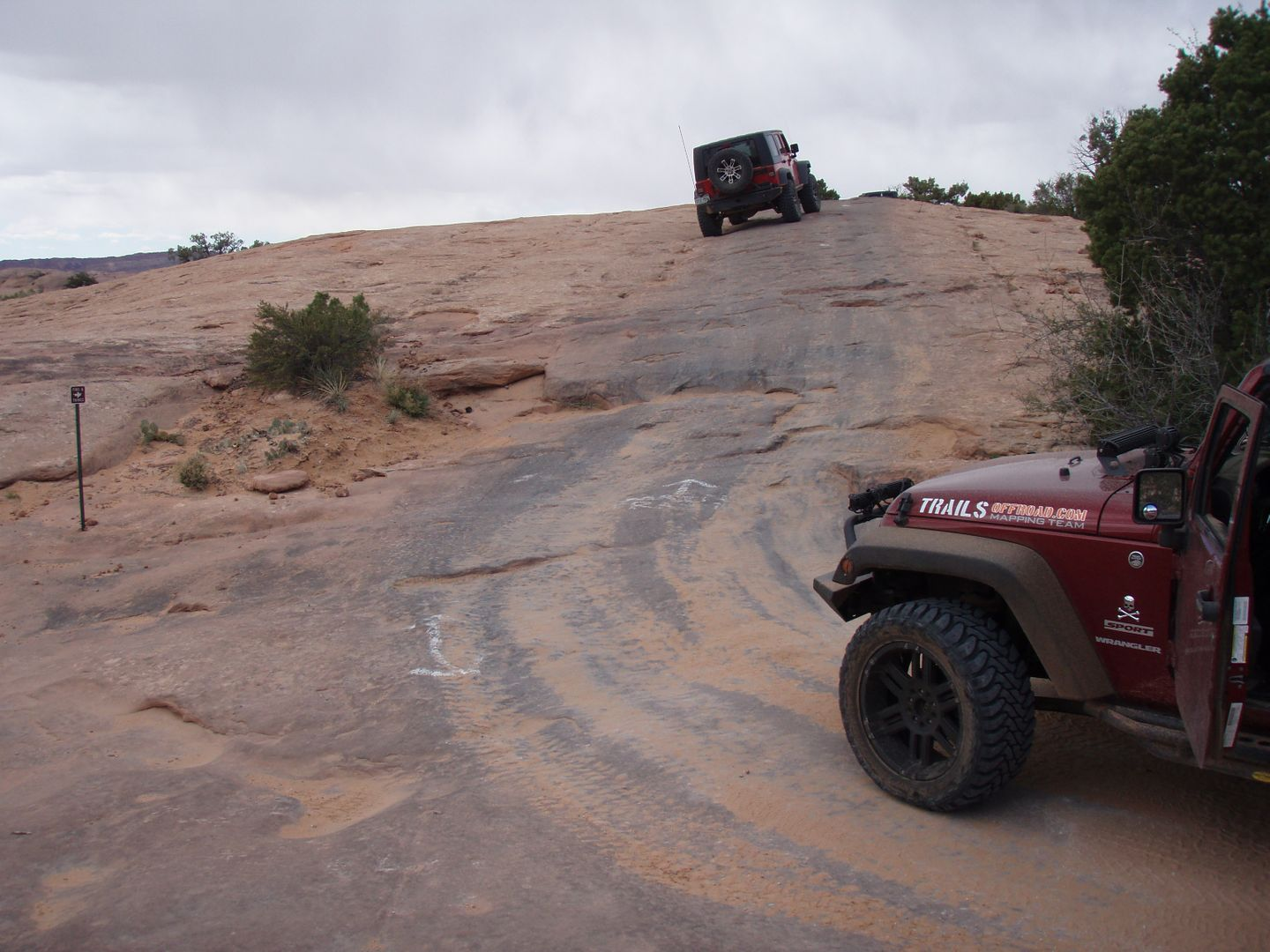 Fins and Things - Waypoint 13: Intersection - Overlook Spur