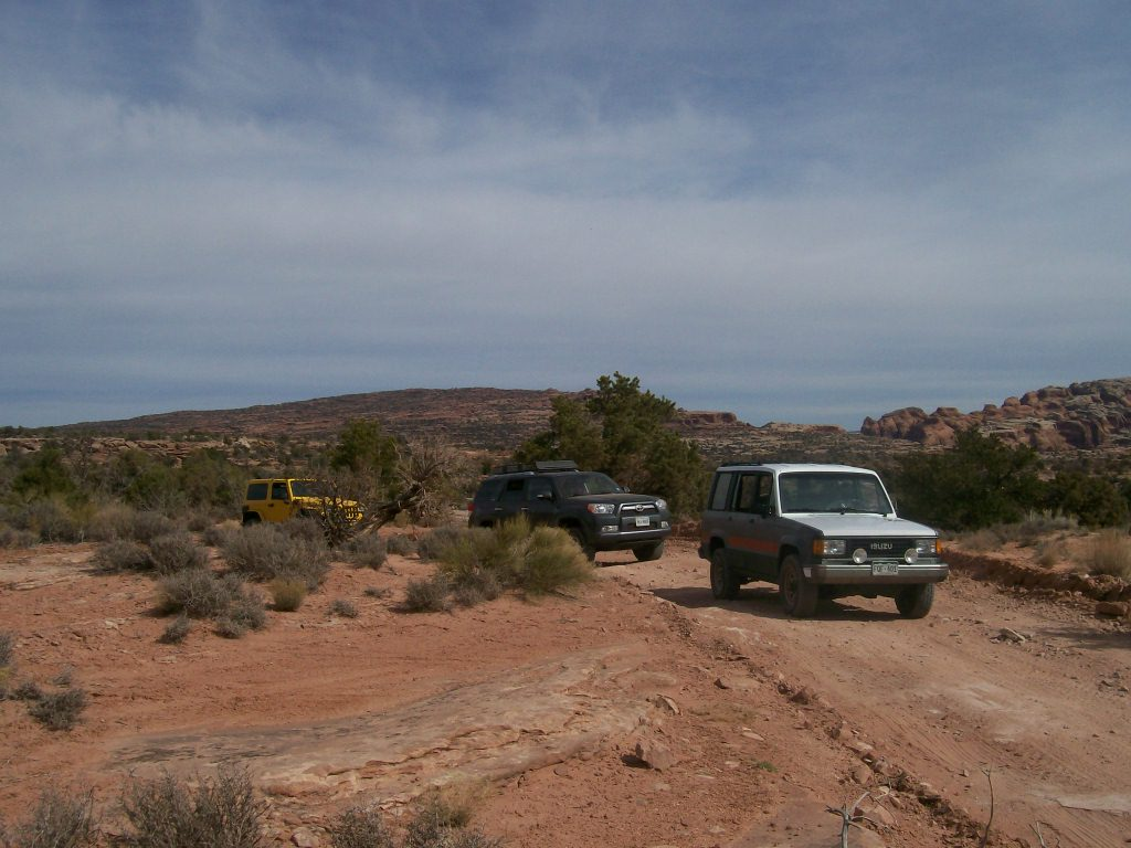 Gemini Bridges - Waypoint 11: La Sal Mountains Overlook