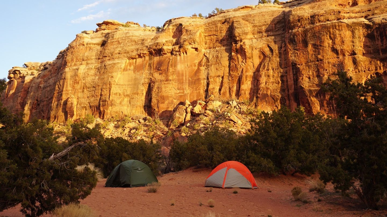 Camping: Gold Bar Rim