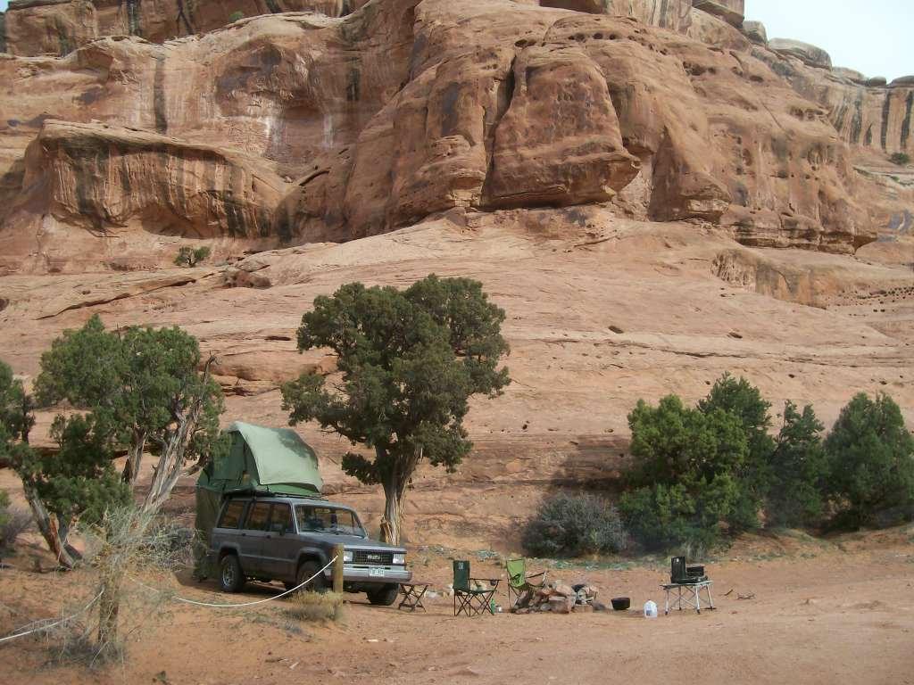 Camping: Hidden Canyon Overlook