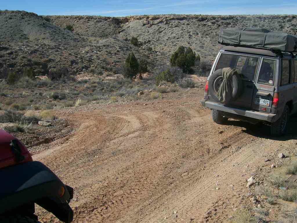 Hidden Canyon Overlook - Waypoint 3: Fork - Stay Straight