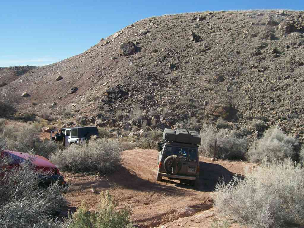 Hidden Canyon Overlook - Waypoint 6: Intersection - Turn Left