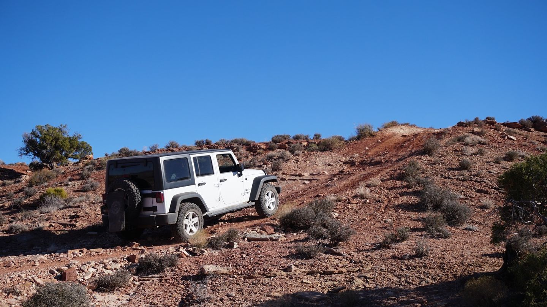 Hidden Canyon Overlook - Waypoint 9: Red Hill
