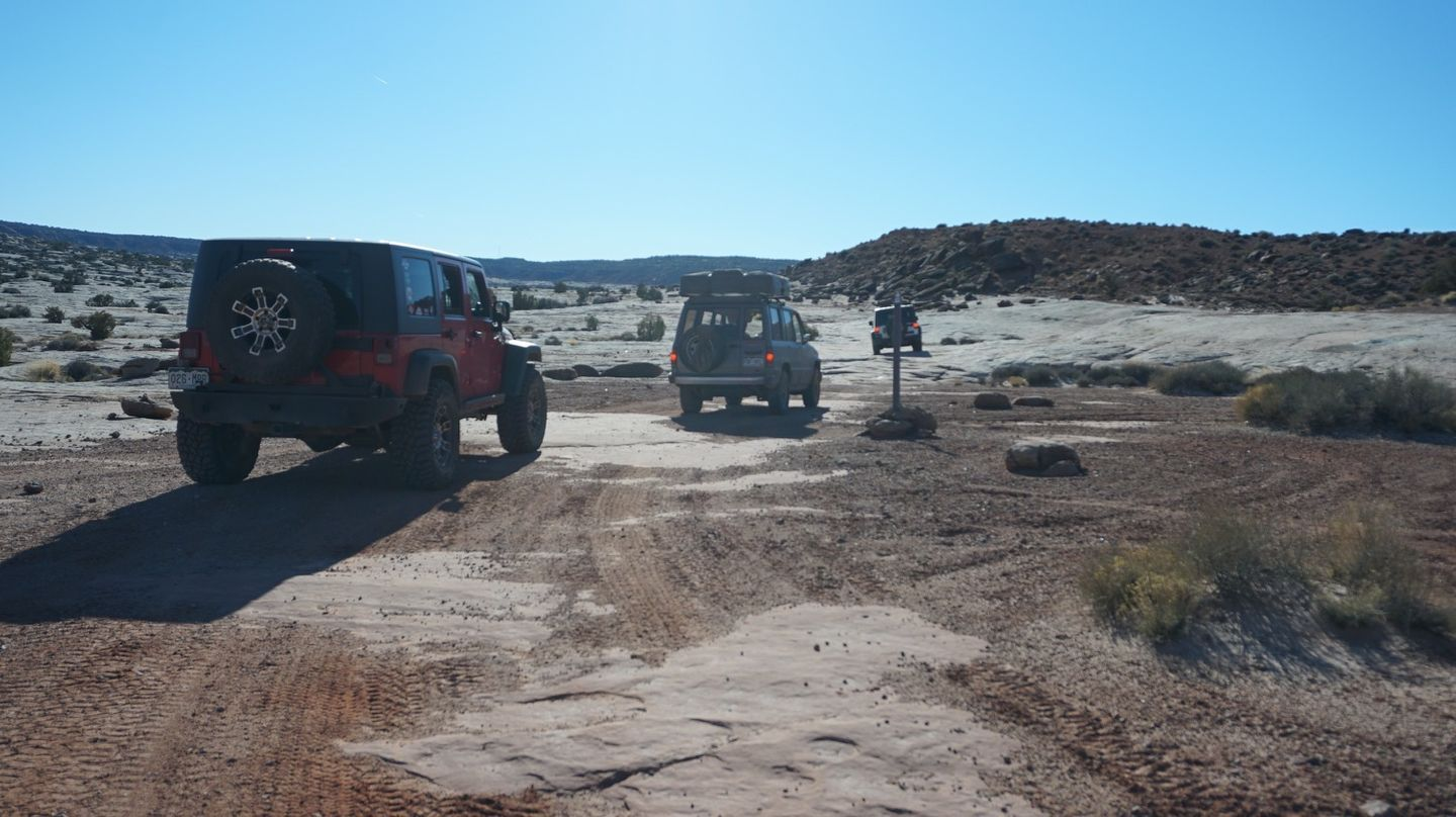 Hidden Canyon Overlook - Waypoint 10: Intersection - Stay Right