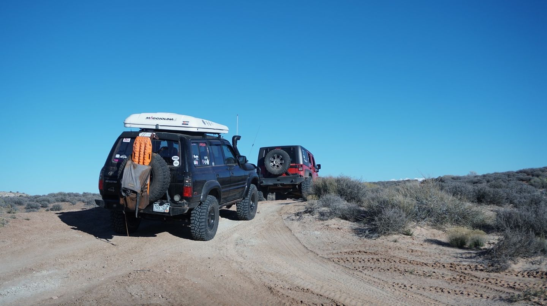 Hidden Canyon Overlook - Waypoint 16: Hidden Canyon Rim Escape Trailhead