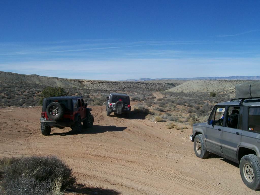 Hidden Canyon Overlook - Waypoint 2: Mashed Potato Trailhead