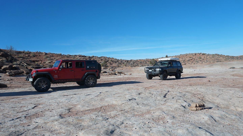 Hidden Canyon Overlook - Waypoint 11: Mashed Potato Trailhead/End