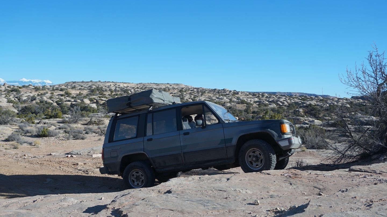 Hidden Canyon Overlook - Waypoint 12: Shelf