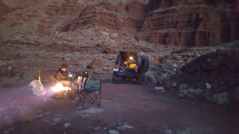 Camping: Lockhart Basin