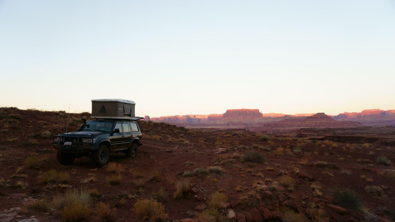Lockhart Basin - Waypoint 19: Camping Area