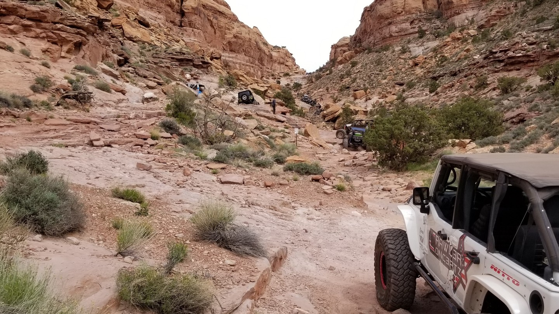 Pritchett Canyon - Waypoint 12: Broken Steps