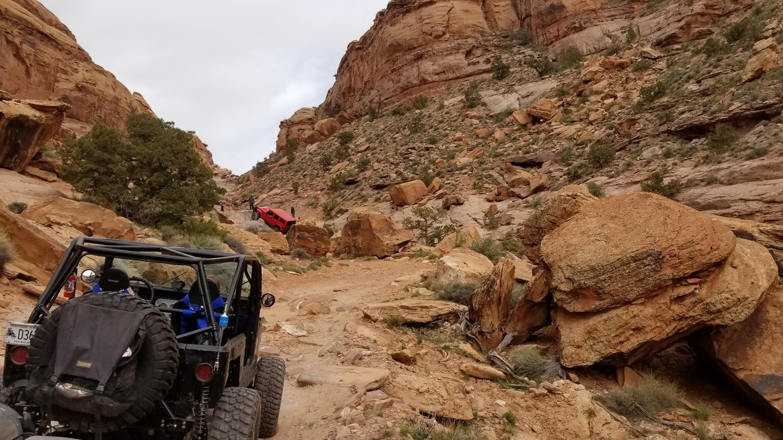 Pritchett Canyon - Waypoint 13: Axle Hill