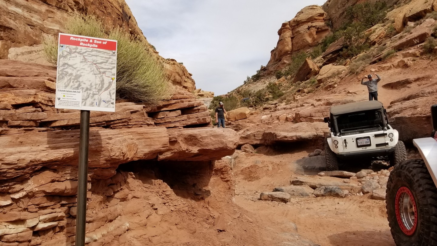 Pritchett Canyon - Waypoint 14: Rock Pile and Son of Rock Pile