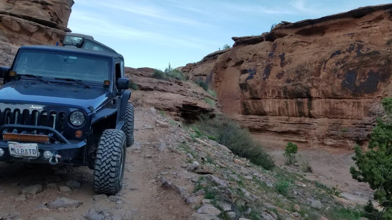 Pritchett Canyon - Waypoint 2: Drop Down Ledges