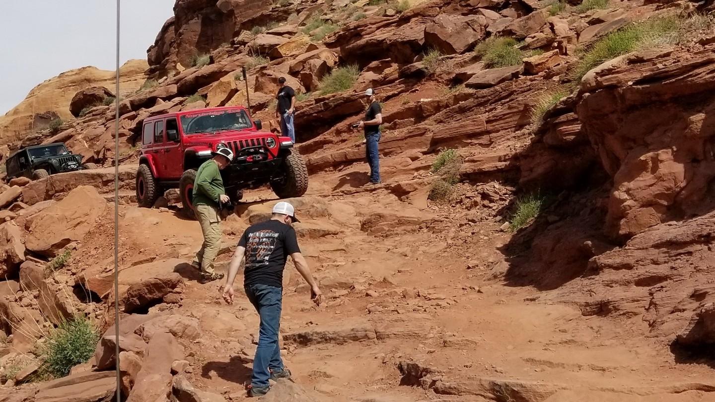 Pritchett Canyon - Waypoint 7: Down Hill Ledge