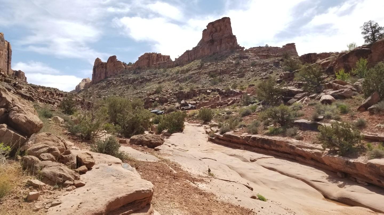 Pritchett Canyon - Waypoint 8: Sluice