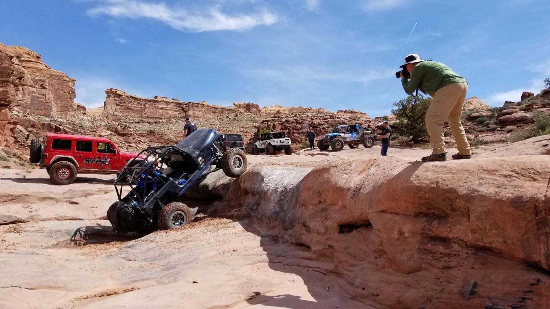 Pritchett Canyon - Waypoint 9: Optional Ledges
