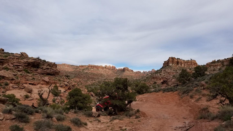 Pritchett Canyon - Waypoint 17: 2-Foot Ledge Drop Down