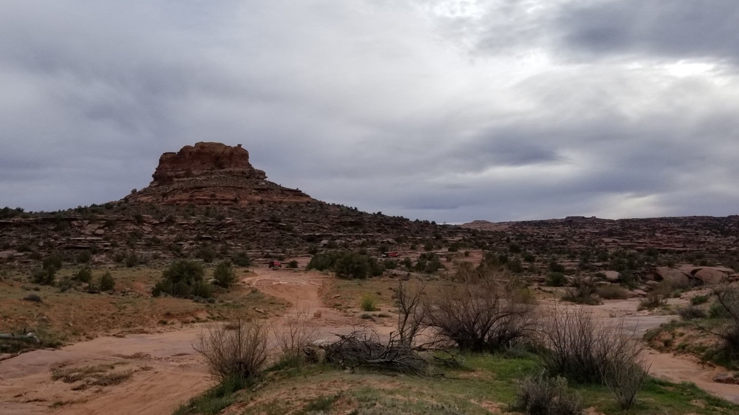Pritchett Canyon - Waypoint 19: Southern Trailhead at Behind the Rocks