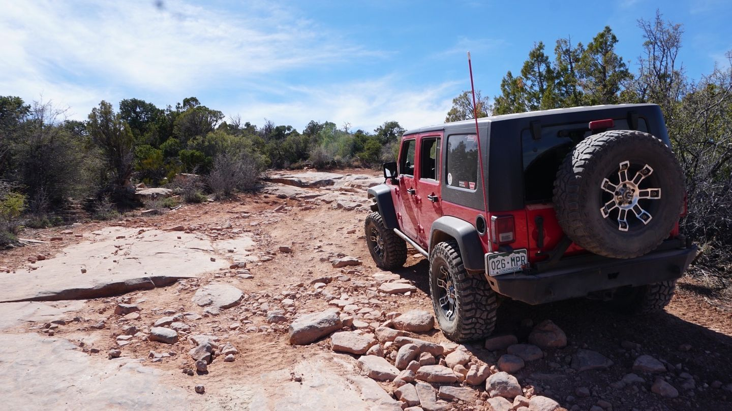 Top of the World - Utah - Waypoint 7: Obstacle Series
