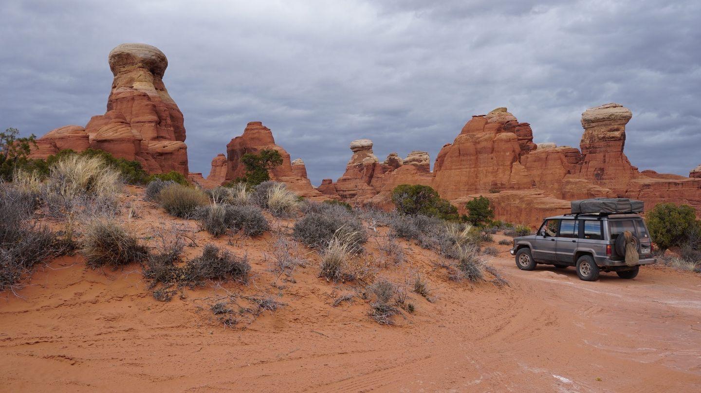 Tower Arch - Waypoint 9: End/Hiking Trailhead