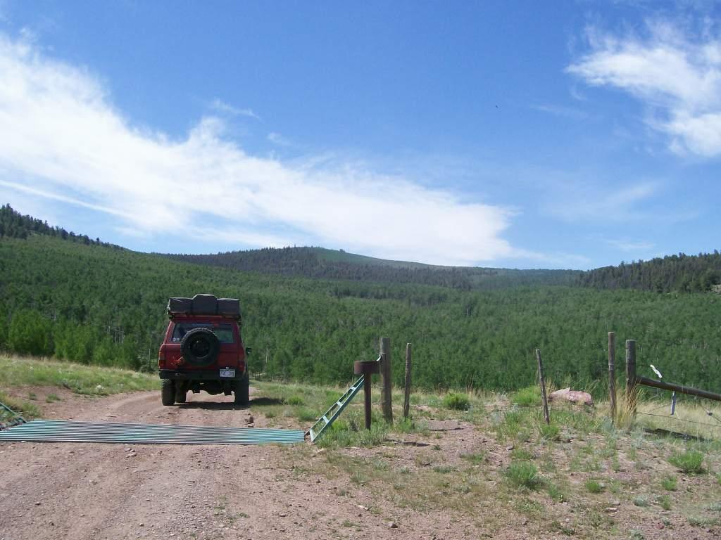 Aspen Ridge - Waypoint 8: Cattle Guard