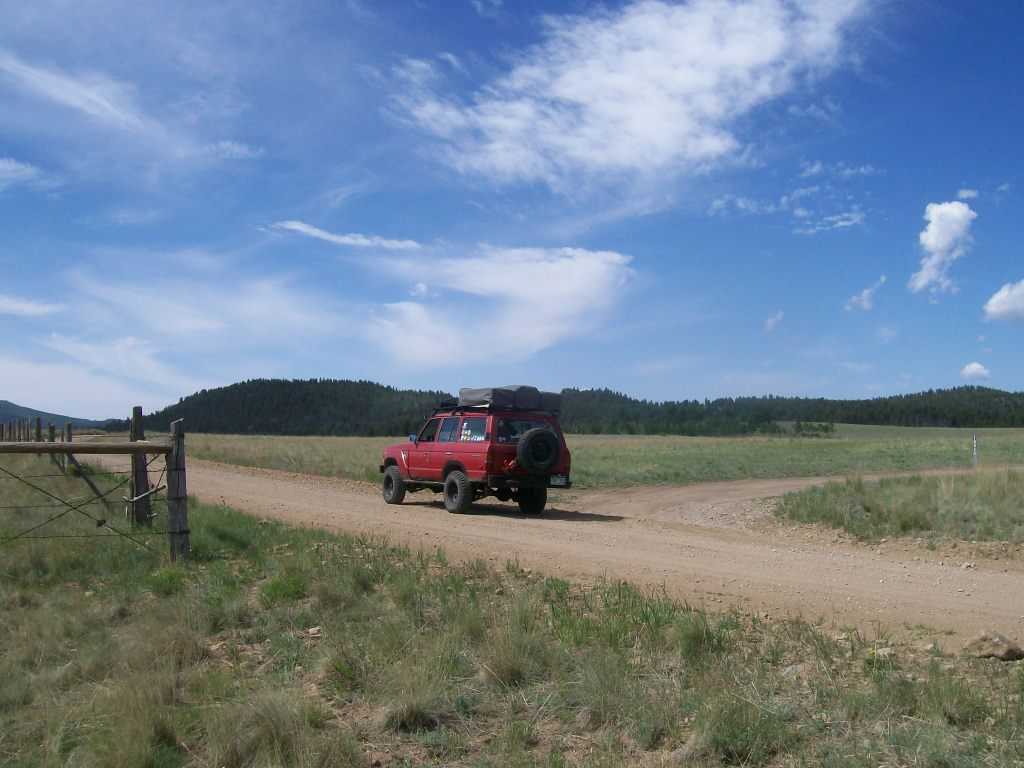 Aspen Ridge - Waypoint 2: Intersection FS Road 185E