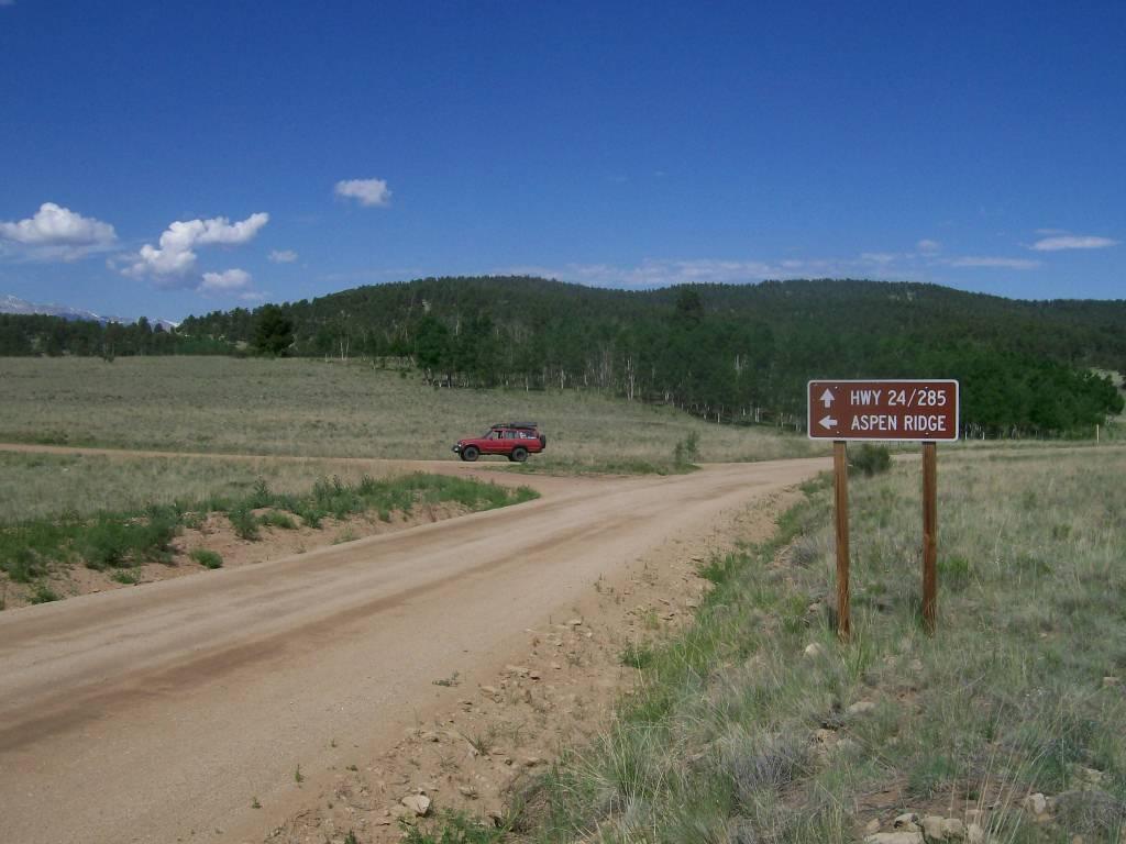 Aspen Ridge - Waypoint 1: Aspen Ridge Trailhead