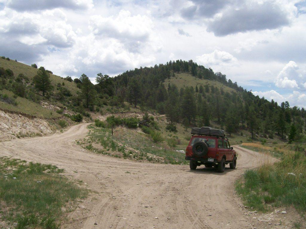 Aspen Ridge - Waypoint 14: Intersection FS Road 185A