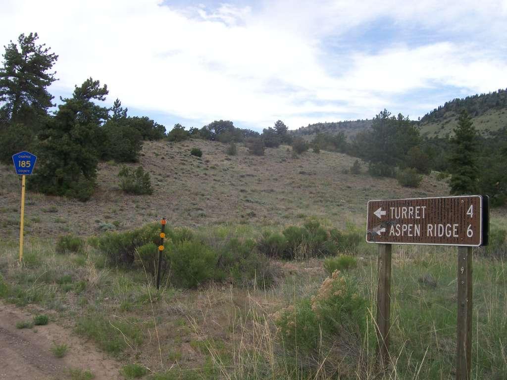 Aspen Ridge - Waypoint 16: Intersection FS Road 175