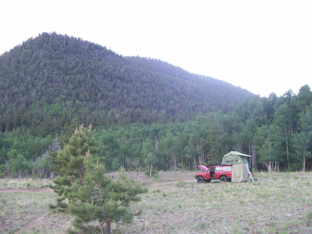 Camping: Bald Mountain Gulch