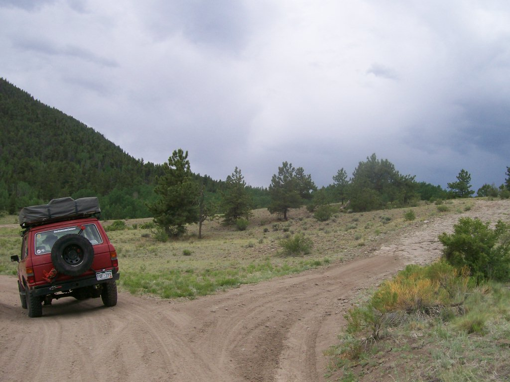 Bald Mountain Gulch - Waypoint 2: Unmarked Road