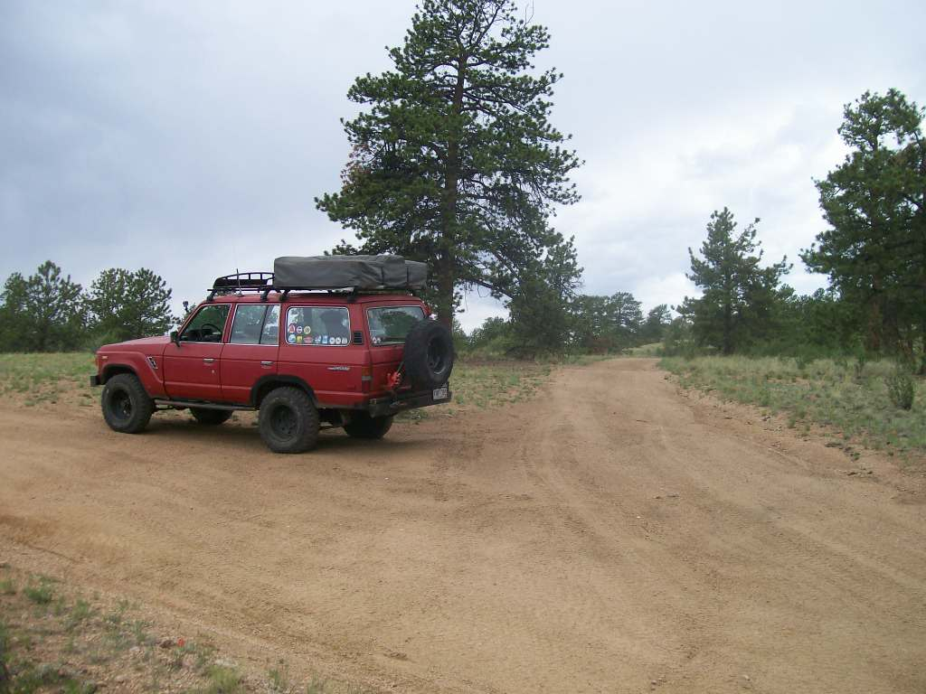 Bald Mountain Gulch - Waypoint 4: Mine Spur Intersection