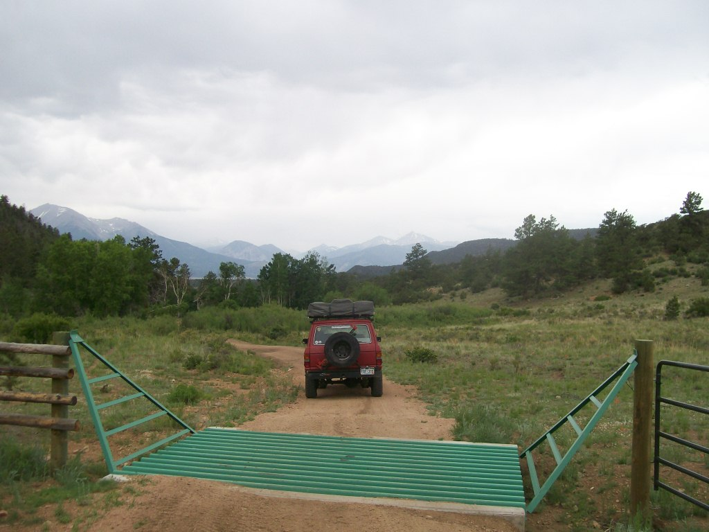 Bald Mountain Gulch - Waypoint 6: Cattle Guard