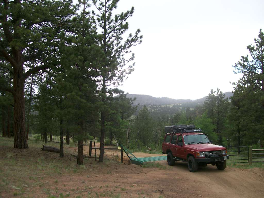 Bald Mountain Gulch - Waypoint 8: Second Cattle Guard
