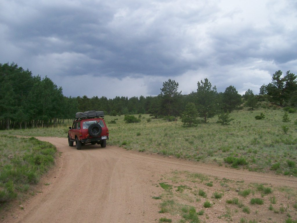 Bald Mountain Gulch - Waypoint 3: Unmarked Road