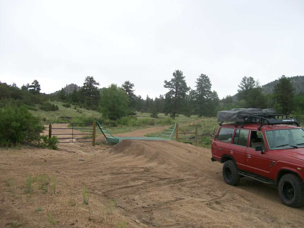 Bald Mountain Gulch - Waypoint 11: Third Cattle Guard